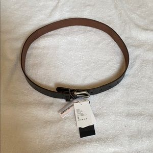 Men's Leather Belt, NWT